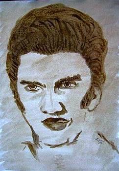 Elvis Presley by Mona  Bernhardt-Lorinczi