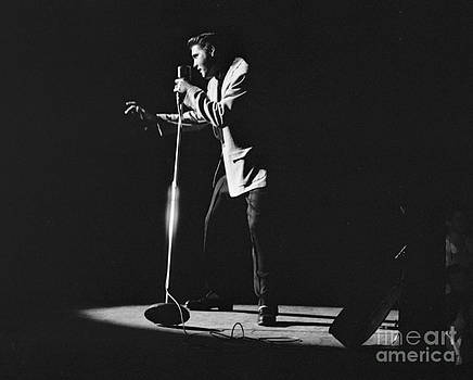 The Harrington Collection - Elvis Presley on stage in Detroit 1956