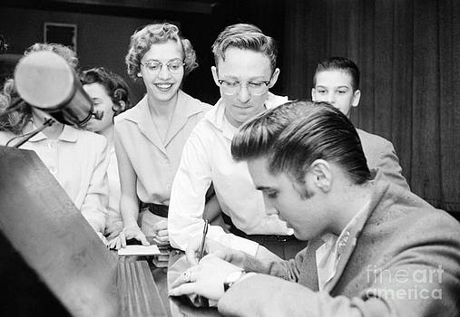 The Harrington Collection - Elvis Presley Signing Autographs for Fans 1956