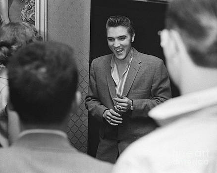 The Harrington Collection - Elvis Presley speaking with Fans 1956