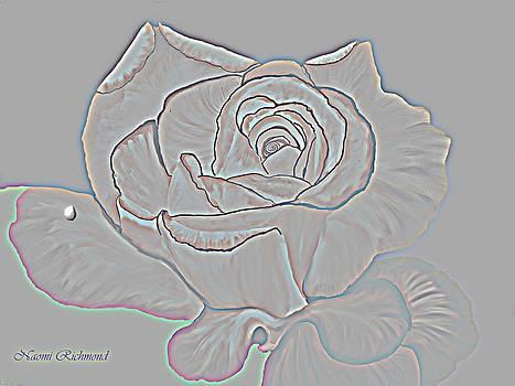 Naomi Richmond - Embossed Rose