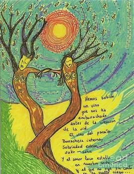 Embracing trees by Silvia Borao
