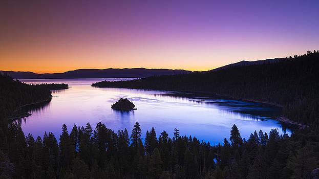 Emerald Bay Dawn by Russ Bishop