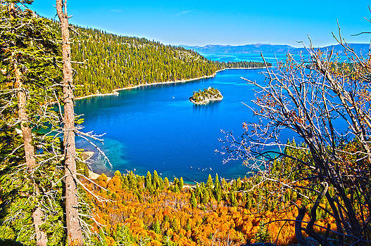 Emerald Bay Fall - Lake Tahoe by Brandon McClintock