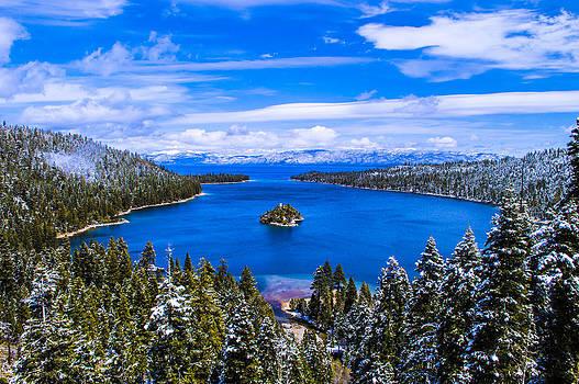 Emerald Bay Winter - Lake Tahoe by Brandon McClintock
