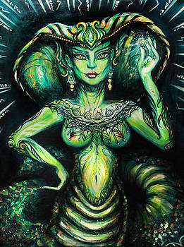 Emerald Empress by Natasha Kudashkina