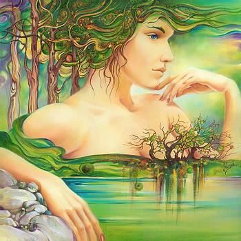 Emerald Lake by Anna Ewa Miarczynska