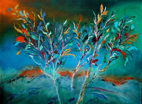 Emerging Trees by Maris Sherwood