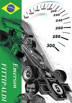 Emerson Fittipaldi by Fero Kopacik