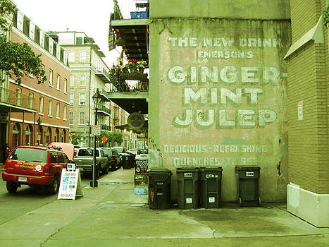 Emerson's Ginger Mint Julep by Michael Morgan