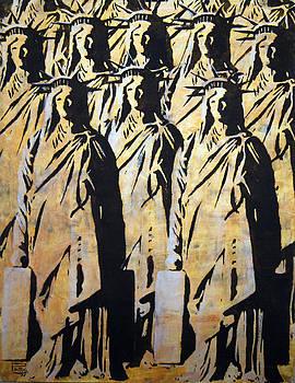 Emigration Liberty by Piotr Betlej