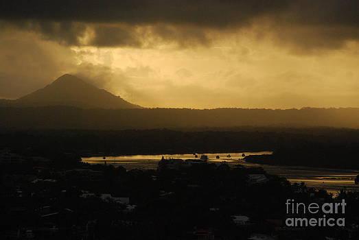 Emitting dusk by Susan Hernandez