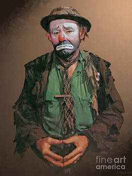 Emmett Kelly by Stephen Shub