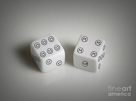 Emoticon Dice by Kitty Bitty