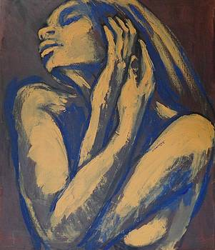 Emotional - Female Nude Portrait by Carmen Tyrrell