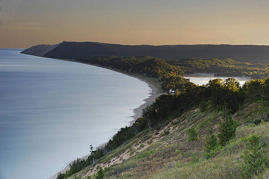 Empire Bluffs Sunrise by Mike Thompson