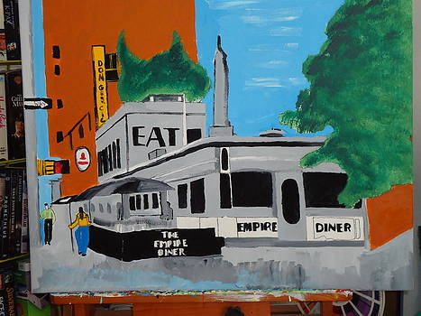 Empire Diner by Jeffrey Foti