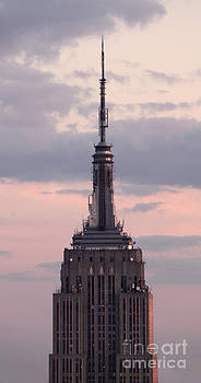 Gregory Dyer - Empire State Building - New York City -  at sunset