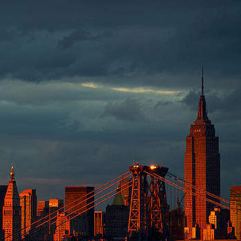 Empire Sunset by Ed Grant
