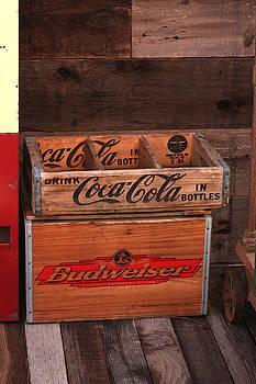 Art Block Collections - Empty Bottle Crates