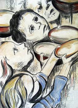 Empty Bowls Empty Bellies by Melanie Alcantara Correia