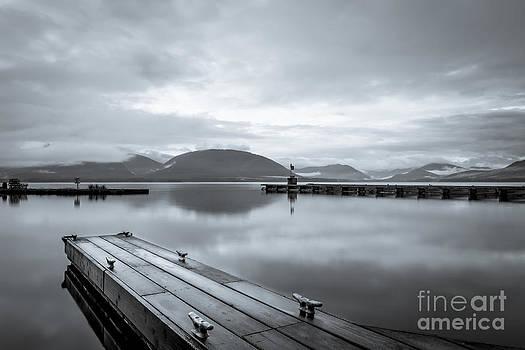 Darcy Michaelchuk - Empty Dock at Tenakee Springs
