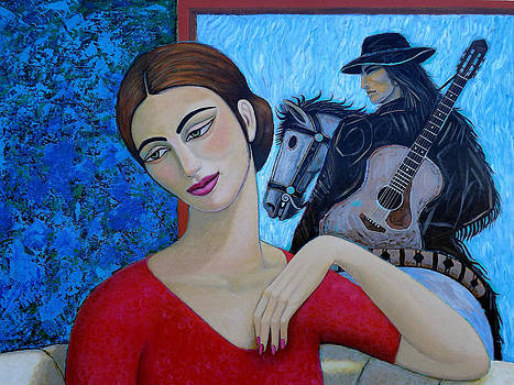 Enchanted Lady 1 by Carlos Sandoval