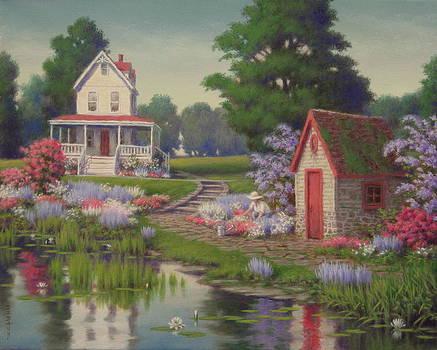 Enchanting Homestead by Barry DeBaun