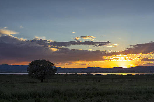 End of the Day at Lake Helena by Dana Moyer