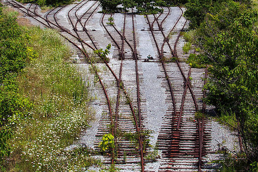 Bill Swartwout Fine Art Photography - End of the Line in Locust Point