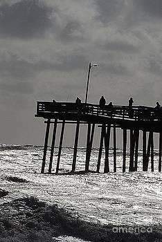 End of the Pier by Wayne Pellenberg