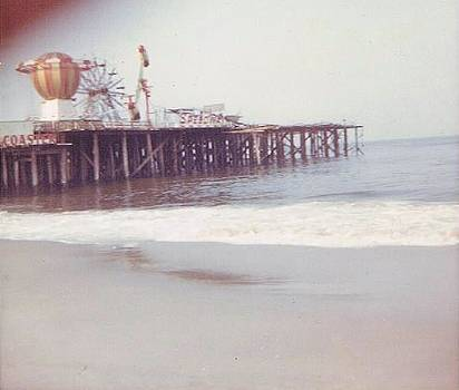 End of the Season Casino Pier Seaside Heights NJ by Joann Renner
