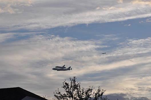 Endeavor Morning Flyover 10 by Russell Libonati