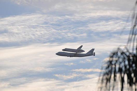 Endeavor Morning Flyover 3 by Russell Libonati