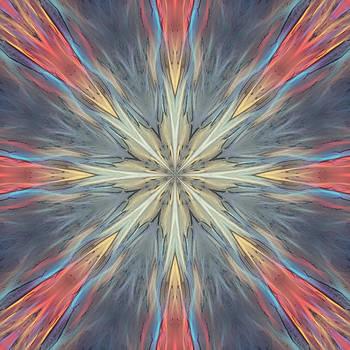 Energy Flow Mandala by Beth Sawickie
