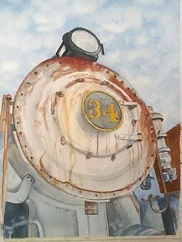 Engine 34 by Barbie Hillenbrand
