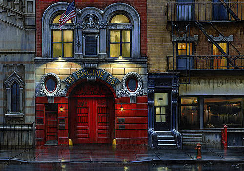 Engine 55  by Janet Ternoff
