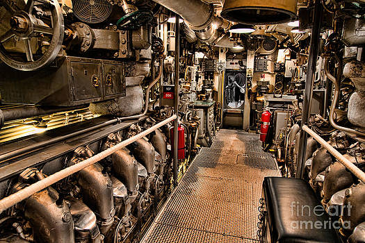 Jon Burch Photography - Engine Room