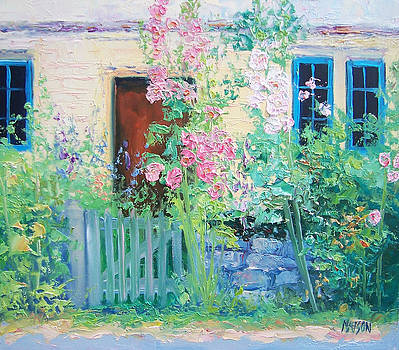 Jan Matson - English country cottage