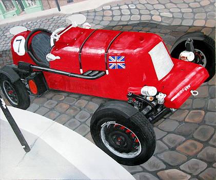 English Racing Automobile by Robert Crooker