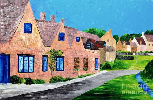 Village by Mariana Stauffer