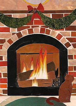 Enjoying The Warmth by Robin Birrell