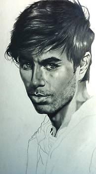 Enrique Iglesias by Carl Baker