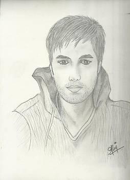 Enrique Sketch by Saleem Baig