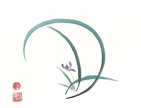 Enso Orchid by Terri Harris