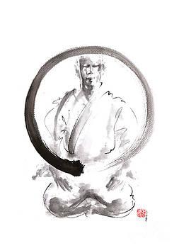 Enso. Zen circle martial arts. by Mariusz Szmerdt