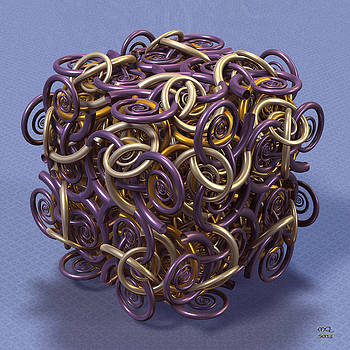 Manny Lorenzo - Entangled Spirals II