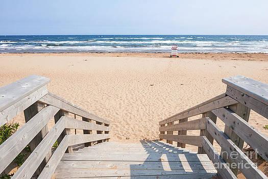Elena Elisseeva - Entrance to Atlantic beach