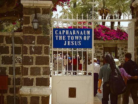 Sandra Pena de Ortiz - Entrance to Capernaum