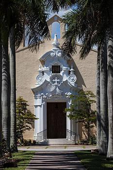 Entrance to Congregational Church by Ed Gleichman